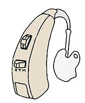 補聴器 耳かけ型